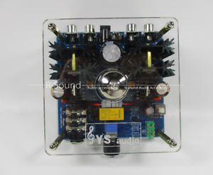 Update 12AU7 Tube Class A Headphone Amplifier w//Power Supply Output mute protect