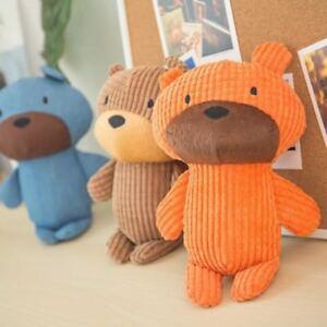 Dog-Tough-Strong-Chew-Knot-Teddy-Toy-Pet-Puppy-Healthy-Teeth-Sound-Bear-Plush