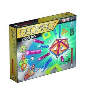 Geomag-Glitter-Verkleidung-Set-44-PIECE-Bau-3D-Strukturen-Und-Geometrisch-Formen