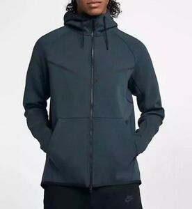 S £90 Nike Tech New zip Hoodie Fleece Size Windrunner 805144 Rrp Full 328 7zSnH7q