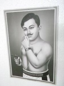 CHANDRA-SHEKHAR-AZAD-Poster-unique-nice-INDIA-famous-personality-16-034-11-034
