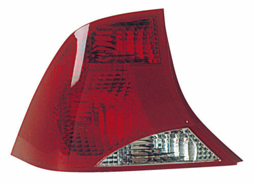 FITS REAR TAIL LAMP LEFT FOR 01-02 FORD FOCUS SEDAN W//2 BULB HOLES 1S4Z-13405-BA