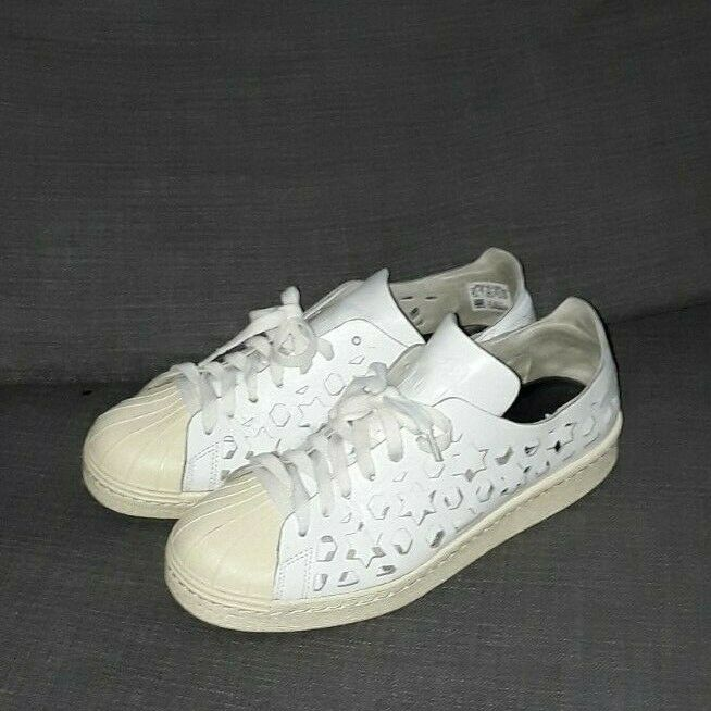 adidas Mens Neo Ripple Leather Trainers