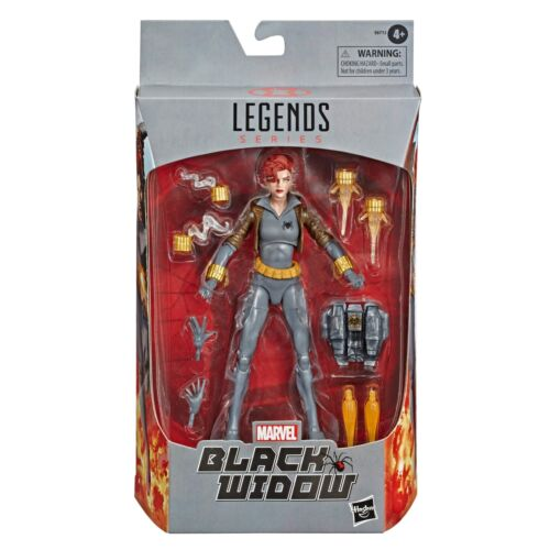 Black Widow Comic Suit Marvel Legends Series