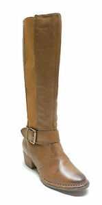 Giani-Bernini-179-Brown-Nut-Leather-Tall-Boots-ALLCOTT-Women-039-s-5-5