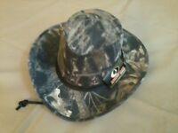 Derringer Hat, Mossy Oak Break-up, Medium (7-1/8), Langenberg, Made In Usa,