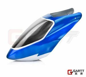 Free-shipping-GARTT-plastic-canopy-blue-For-Align-Trex-500-RC-Helicopter