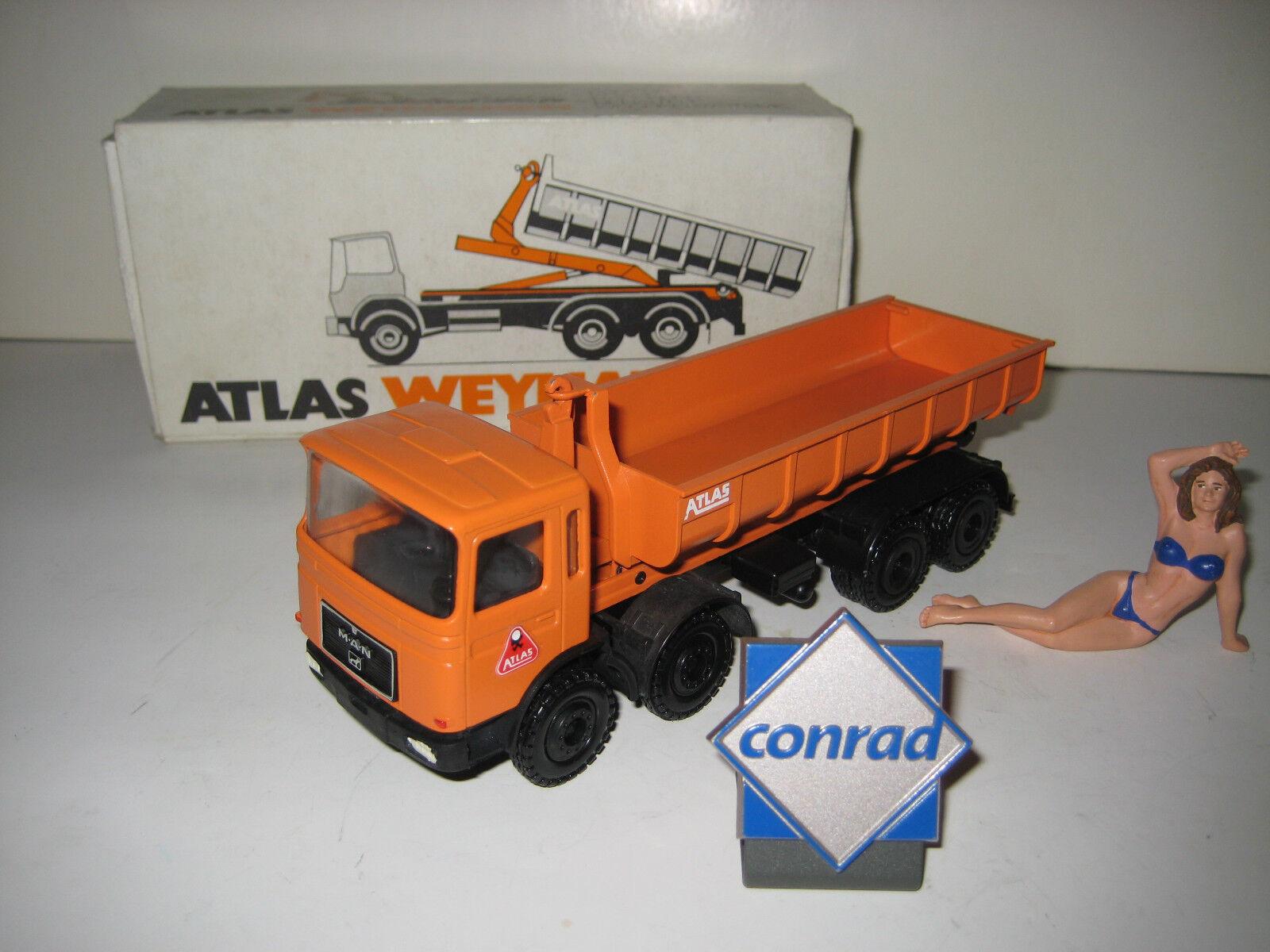 ATLAS MAN F 8 4-ACHS ABROLLER Orange  3167.1 CONRAD 1 50 OVP
