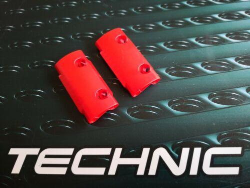 2 x Lego Technic Nouveau Panel 24119 muraux Plié 1 x 3 x 7 rouge 6227232 NEUF