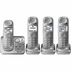 Panasonic-KX-TG674SK-Bluetooth-Link2Cell-DECT-6-0-Digital-Cordless-Phone-System