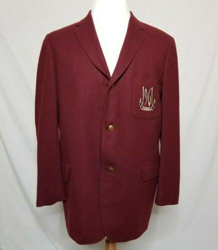 VTG Cornell University Blazer Sport Coat Suit Jack