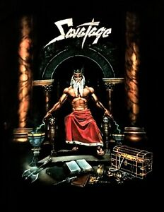 SAVATAGE cd cvr HALL OF THE MOUNTAIN KING Official SHIRT LAST XXL 2X New OOP