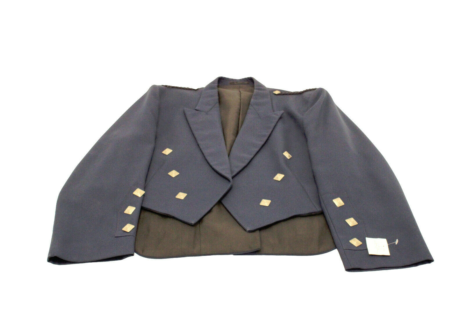 ExHire Navy Prince Charlie Jacket & Vest Scottish Made - limited sizes available