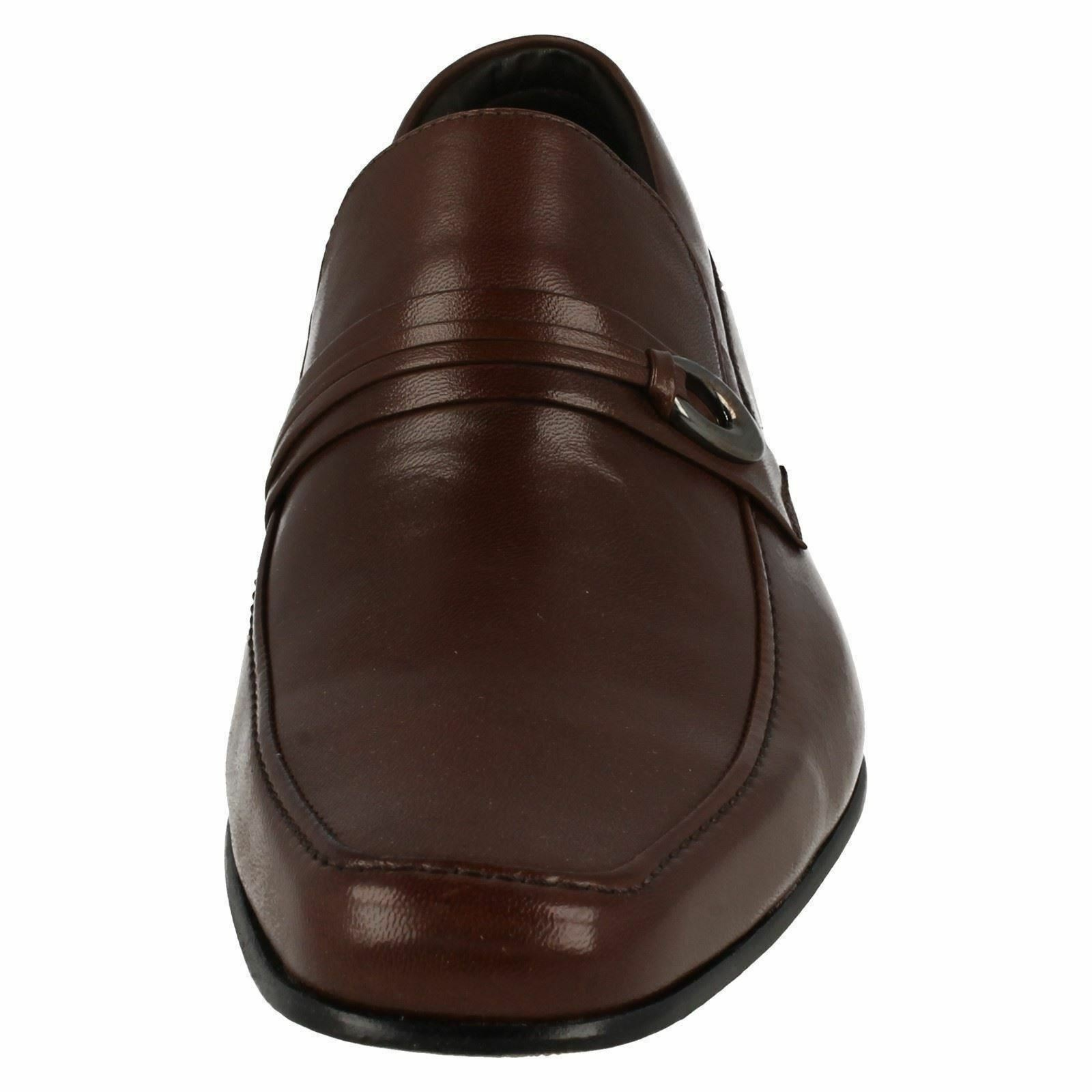 Mens Leather Anatomic Prime Goiania 2 Chocolate Brown Leather Mens Smart Slip On Shoes ac9f69