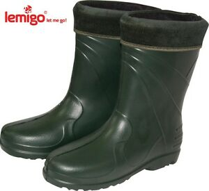 Lemigo Alaska Eva Winter Boots Fishing Boots Wellies