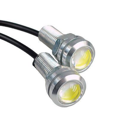 10x Lot 9W 12V Eagle Eye White Light Daytime Running DRL Tail Backup Led Lamp DC