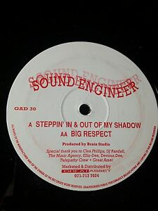 Sound-Engineer-Steppin-039-In-amp-Out-Of-My-Shadow-RARE-1992-OLDSKOOL-HARDCORE