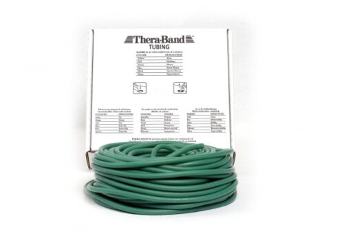 Tubing Tube 30,50 M fortemente VERDE Thera Band NUOVO /& OVP