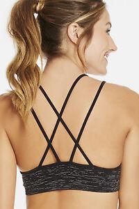 ce10c7c062145 FABLETICS Athletic Kemi II Sports Bra Size XS BlackWhite Kate Hudson ...