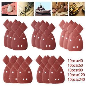 50x-Feuilles-de-poncage-40-240-grains-abrasifs-sable-abrasif-paume-noire-Decker
