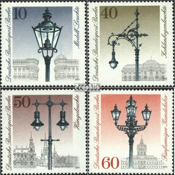 Berlin (West) 603-606 (complete.issue) unmounted mint / never hinged 1979 street