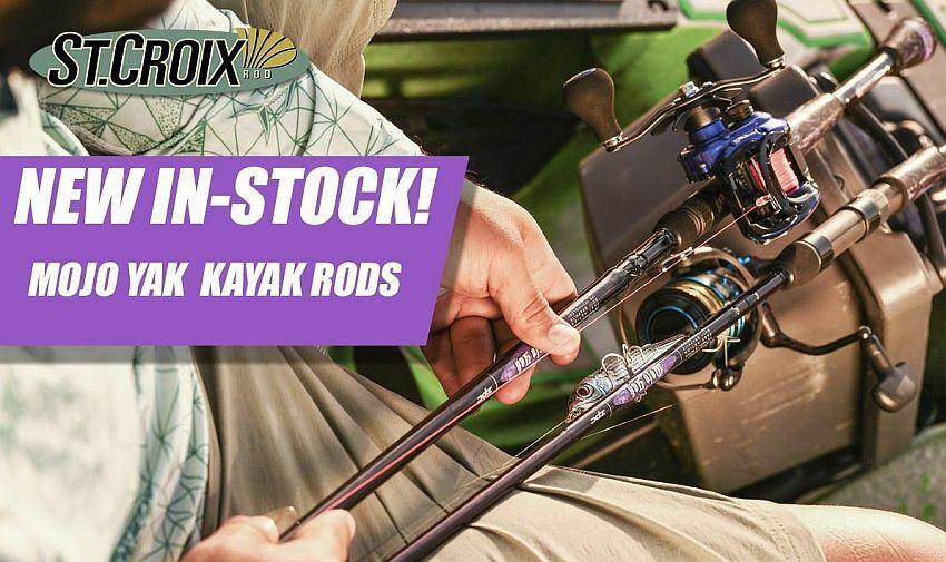 St. Croix Mojo Yak 7'0  Medium Spinning Rod MYS70MF   new branded