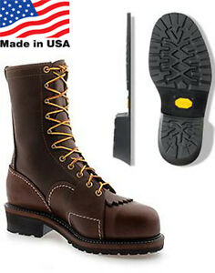 b520a36f744 Details about Wesco Groundout Lineman Boot 10