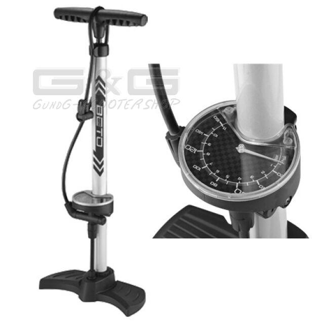 BETO Air Pump Bike Pump Floor  Pump Aluminium Pump Manometer 3,5   11BAR 160PSI  fast shipping worldwide