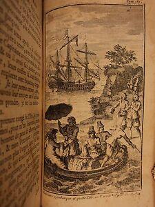 1720-1st-ed-Robinson-Crusoe-Daniel-Defoe-Voyages-Illustrated-Shipwreck-Castaway