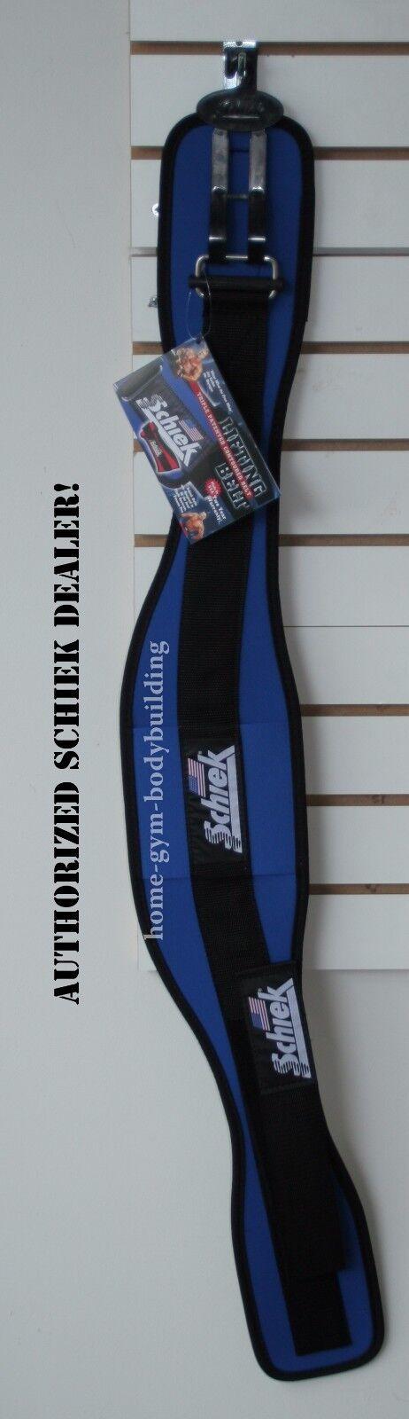 Weight Blau Lifting Belt Schiek 2006 Nylon Royal Blau Weight Weightlifting Bodybuilding 2c24a1