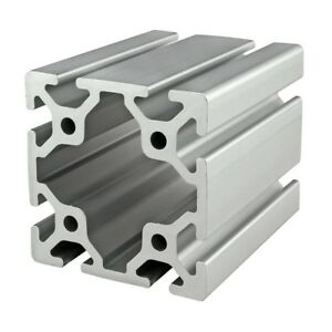 Details about 8020 Inc T Slot 80mm x 80mm Aluminum Extrusion 40 Series  40-8080 x 1525mm N