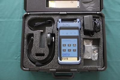 Exfo Vcs-20a Multifunction Fiber Optic Talk Set Vcs20a Full Duplex Communication Durchsichtig In Sicht