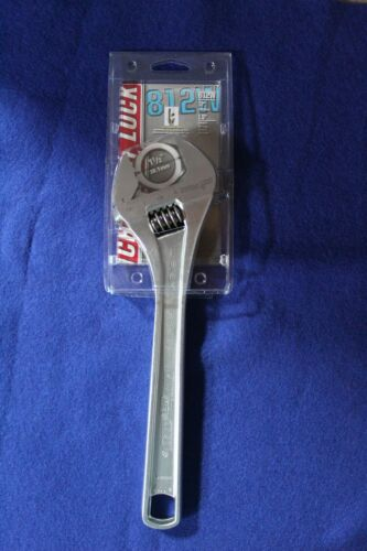 """Channel Lock 812W 12/"""" Adjustable Wrench"""