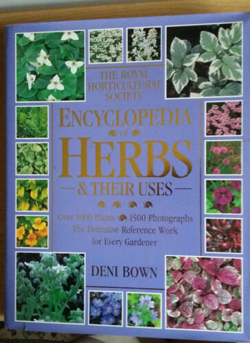 1 of 1 - The Royal Horticultural Society Gardeners' Encyclopedia of HERBS AND THEIR USES