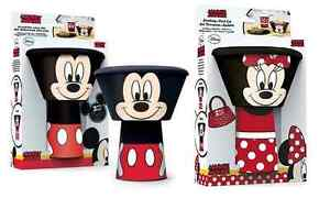 Childrens-empilage-tasse-mug-bol-amp-assiette-repas-diner-ensemble-mickey-amp-minnie-mouse