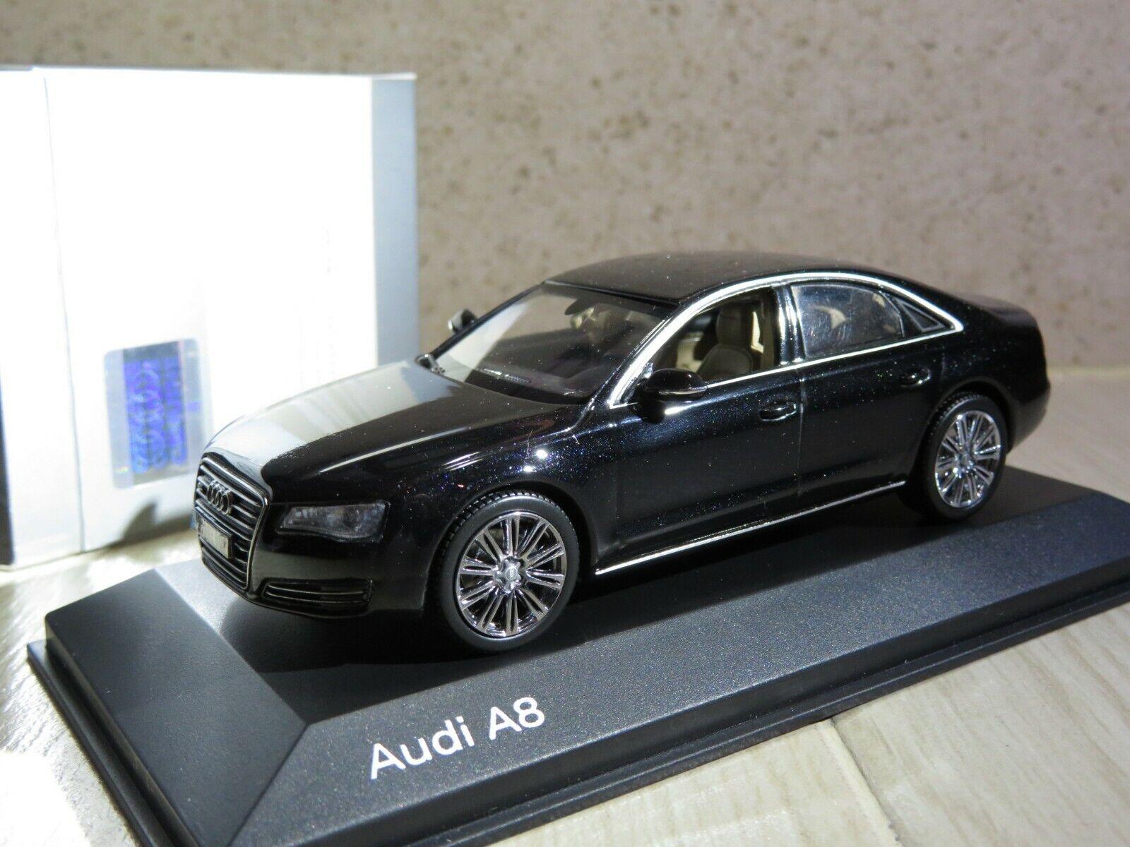 1 43 Audi A8 Third Third Third generation (D4, Typ 4H) 2017 diecast (dealer version) LS b0d729