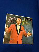 JIM REEVES A TOUCH OF VELVET 33rpm RECORD LP VINYL LONG PLAYER USED