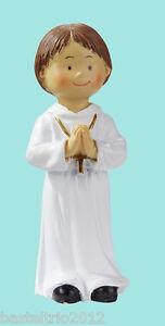 Kommunion-Konfirmation-Kommunionkind-Junge-Tortenaufsatz-Kind-Tortenfigur
