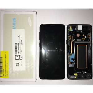 Display-Lcd-Touch-Screen-Originale-Samsung-Galaxy-S9-G960F-SM-G960F-NERO-black