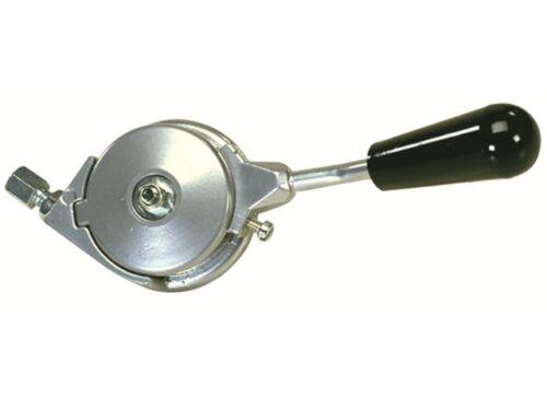 Gashebel Aluminium rechts//links verwendbar Gaszug Seilwinde Wippsäge