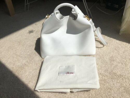 Elleme Raisin Bag White Pre-owned