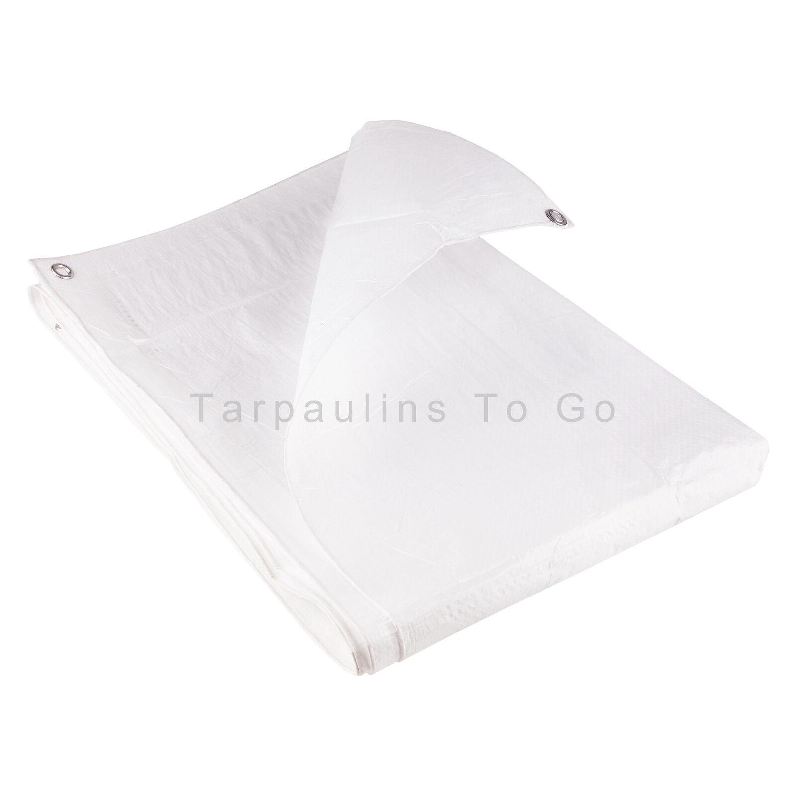 Waterproof Tarpaulin Ground Sheet Cover Camping Cover Sheet Large Value Tarp with eyelets acb0fa