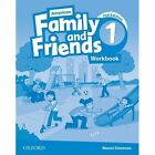 American Family and Friends: Level One: Workbook: Supporting All Teachers, Developing Every Child by Tamzin Thompson, Naomi Simmons, Jenny Quintana (Paperback, 2015)