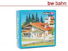 "Kibri H0 Bausatz 8067 Chalet ""Lenzerheide"" Schweiz Wohnhaus Alpen Neu"
