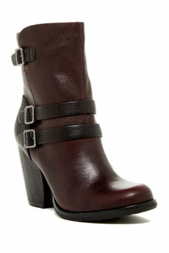 BRAND New New New Kork-Ease Mujer Anki Rojo Negro De Cuero Zapatos De Tobillo  Precio por piso