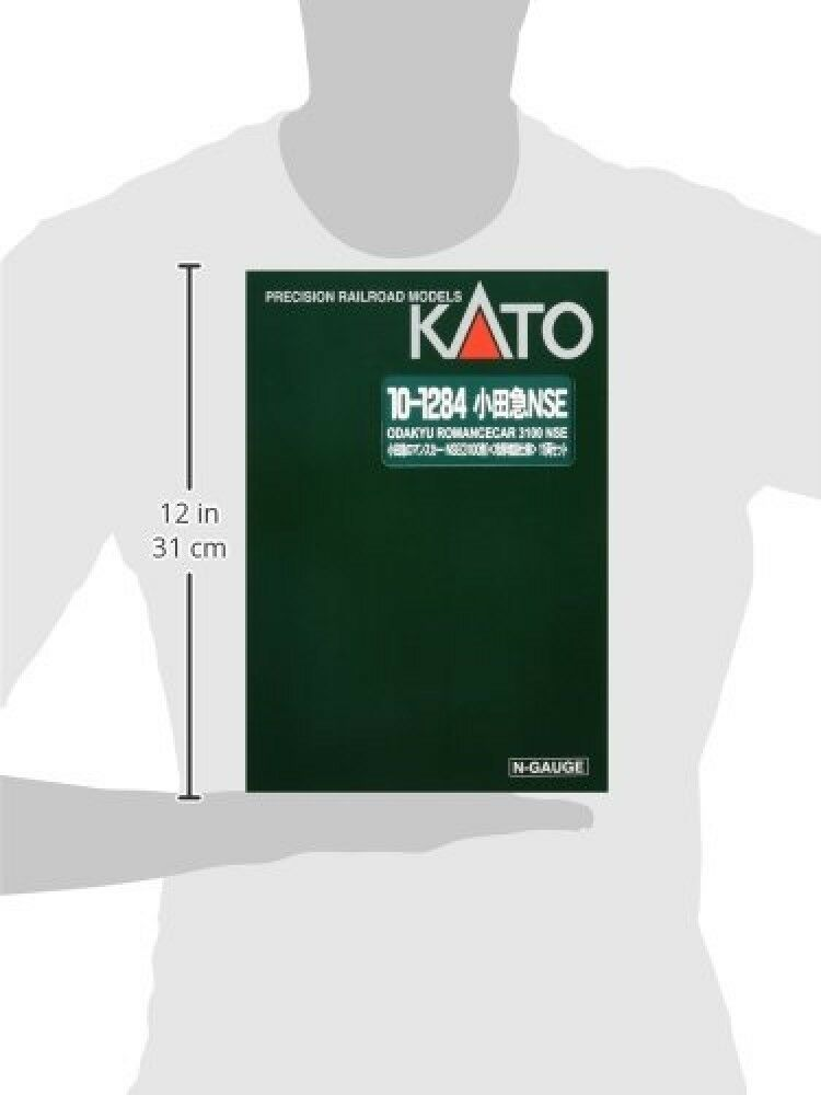 KATO N Gauge Odakyu Romance Romance Romance Car · NSE 3100 Cooling Expansion 11-Car Set 10-1284 26ba17