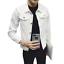 Men Casual Retro Denim Jean Jacket Spring Loose Nightclub Bar Coat Outwear New