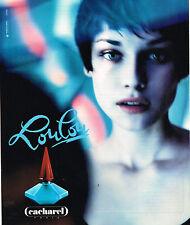PUBLICITE ADVERTISING 064  1995   LOULOU  parfum CACHAREL