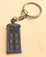 DOCTOR WHO TARDIS METAL KEYRING - CHARM BRAND NEW GREAT GIFT
