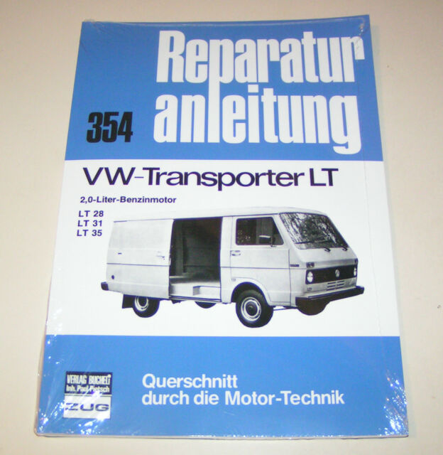 Repair Manual VW Transporter Lt 28 / Lt 31 / Lt 35 - Gasoline - from 1975
